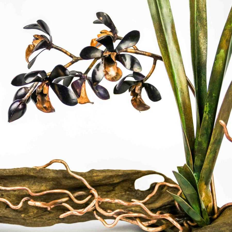 Deep Purple Cymbidium Orchid #05