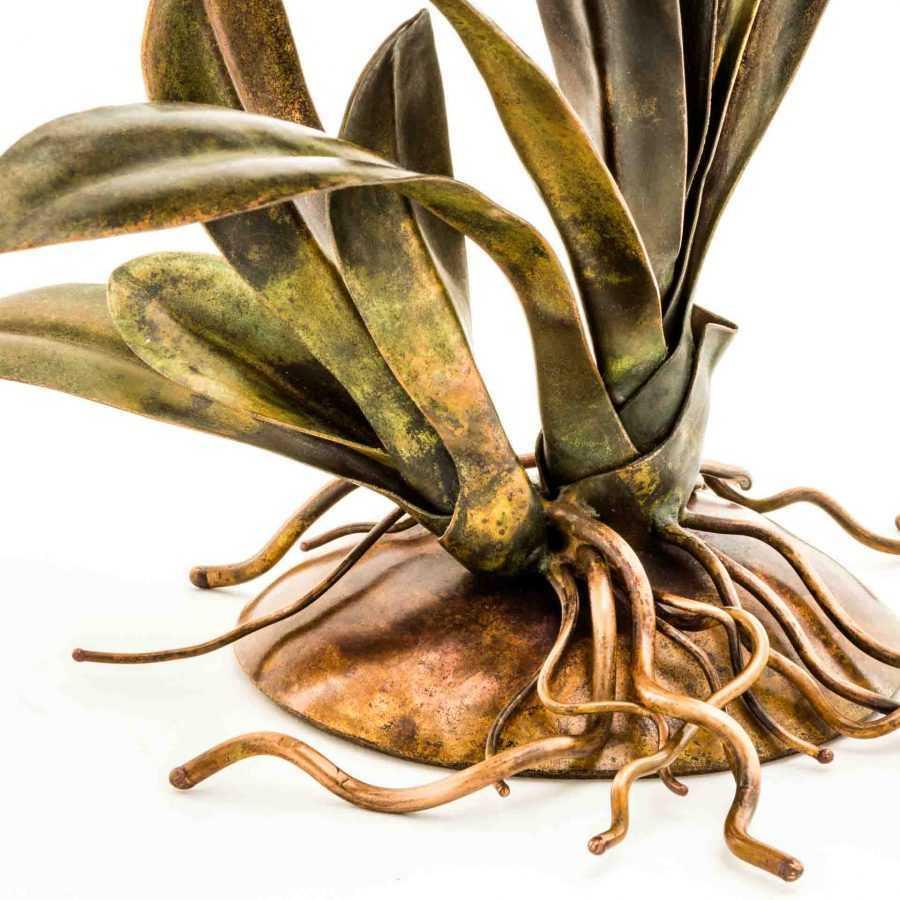 Deep Orange Orchid #61